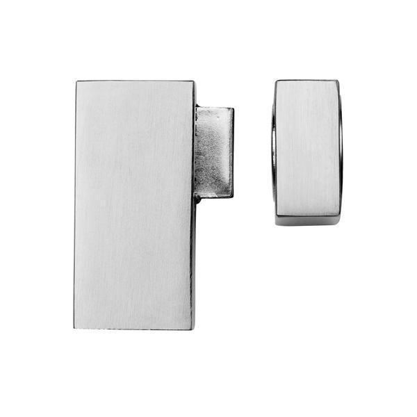 Quad magnetic door stop floor mounted-Door Furniture, Door Handles, Door Knobs, Bathroom Accessories, Door Hardware, Cabinet HardwareProduct Categories - Door Hardware Accessories - Door Stops -