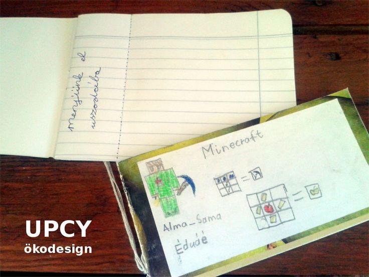 Kuponfüzet csináld magad útmutató, füzet újrahasznosítás - DIY coupon book tutorial upcycled