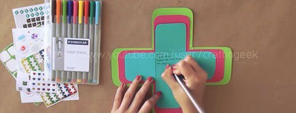Cajita scrapbook regalo f cil paso a paso exploding box - La cajita manualidades ...