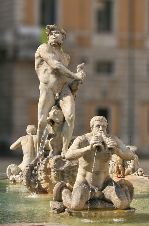 Gian Lorenzo Bernini  Fountain of the Moor  Italy (1653)  Piazza Navona, Rome.
