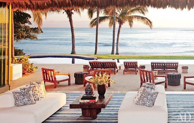Goodness....  Martyn Lawrence Bullard's Punta Mita, Mexico Seaside Enhancement : Interiors + Inspiration : Architectural Digest