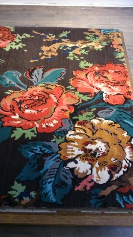 Pricy color and fun from the Rug Company