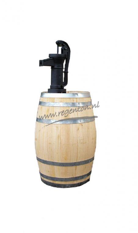 Regenton 50 liter nieuw met pomp - Webshop - Regenton.nl