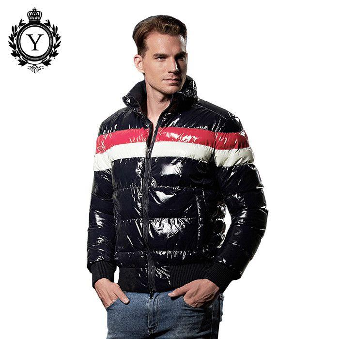 Male Cotton Clothing Waterproof Windbreaker Jacket Men Down Jacket Winter Hood Down Coat Parkas Men
