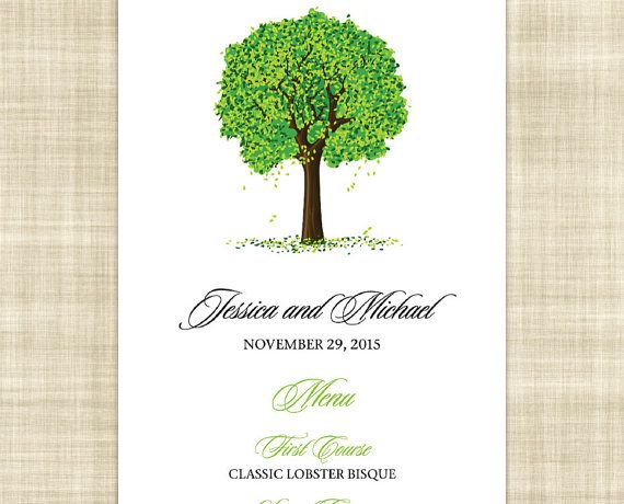38 best Menu etsy images on Pinterest Wedding dinner menu - event menu template