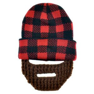 Me in Mind Lumber Jack Beanie at Psychobaby