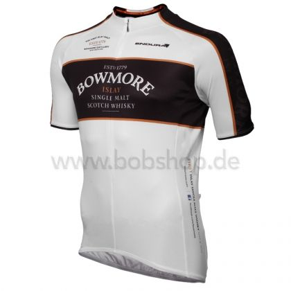 Le n°1 européen du vêtement cycliste. | Maillot manches courtes ENDURA Bowmore Whisky noir | Équipement Cycliste Pro