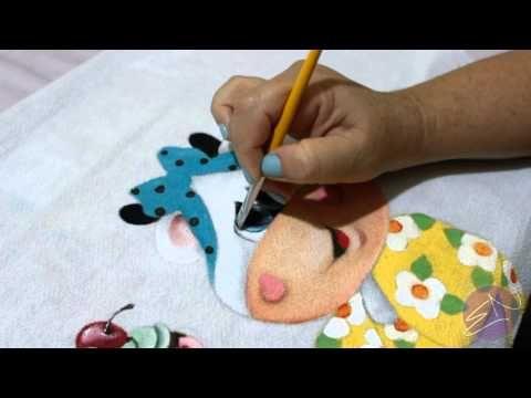 Eliane Nascimento: Minhas dicas de pintura - Iluminando os olhinhos - YouTube