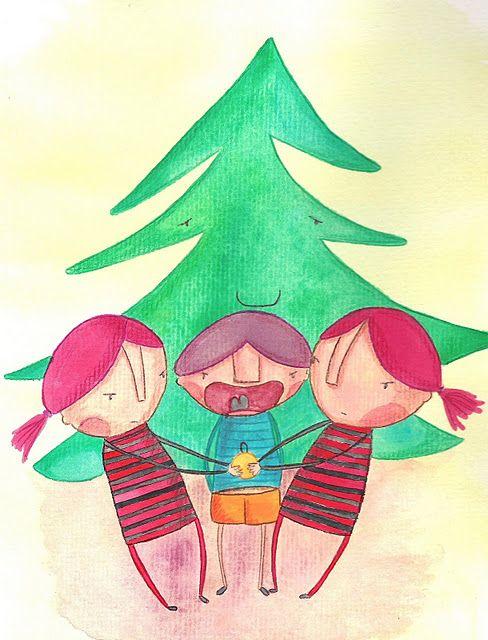 Cuento a la vista: El árbol de Navidad sin Navidad