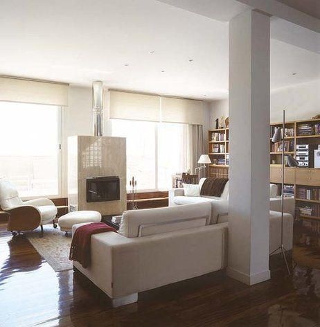 32 best images about decoracion on pinterest mesas - Decorar columnas salon ...