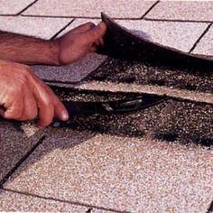 Learn how to repair and replace damaged asphalt roof shingles.