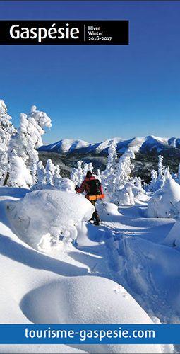 Brochure hiver Gaspésie