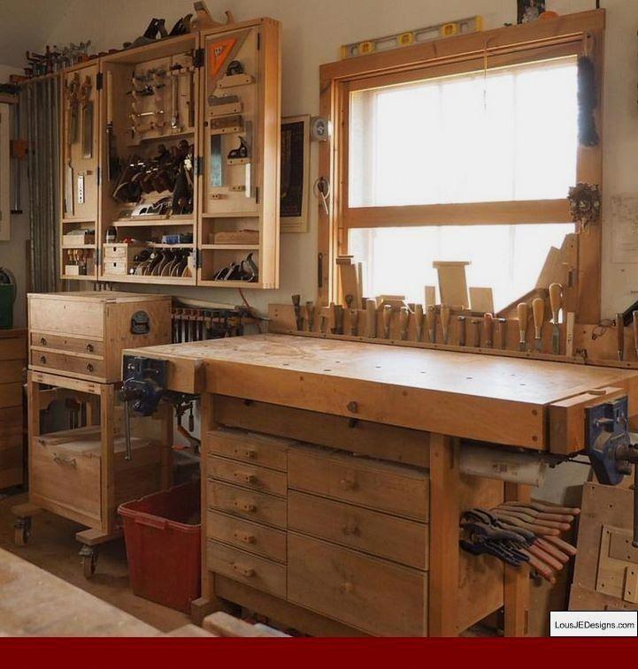 Small Garage Workshop Layout and Diy Workshop Stool.