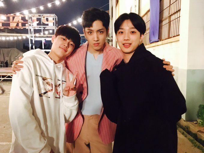 My babies Yoo Seonho Lai QuanLi