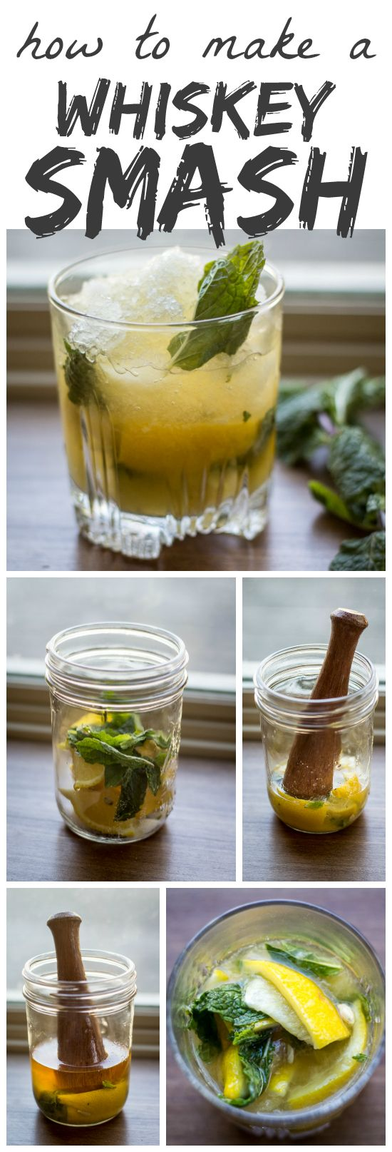 Tart lemons and fresh mint are muddled with sugar to form the base of this…
