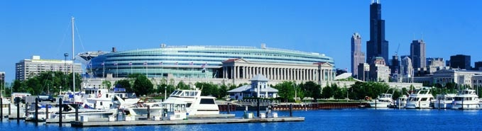 Watch a Bears game at Soldier Field - in September though, not December!