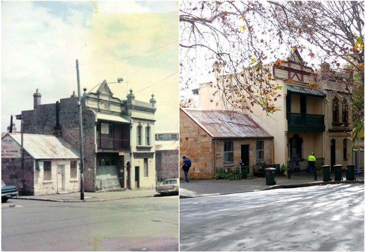 Dowling Street, Woolloomooloo c1975 > 2016. [City of Sydney archives > Kevin Sundgren. By Kevin Sundgren]