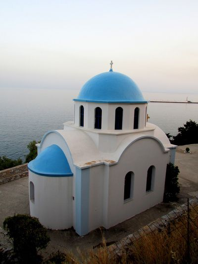 Greek church, Therma, Ikaria (Greece)