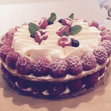 Raspberry Mille Feuille