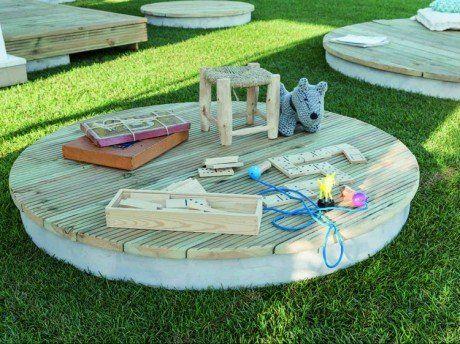 Comment créer un ilot de terrasse bois ?