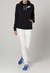 Nike Sportswear - RALLY FUNNEL - Hoodie - black