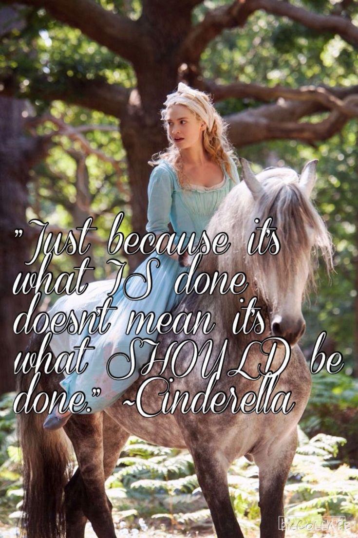 """""""Solo porque algo este hecho, no significa que debió ser hecho""""- Cinderella."""
