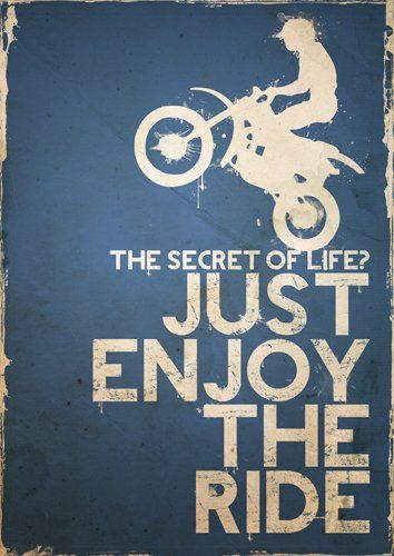 Motocross Poster, Speedway Poster, Bike Poster, Blue, Motorbike, Sports Poster, Extreme Sports, Size:16.5 inch x 11.7 inch, Bike Racing Poster, Art Print, Unframed
