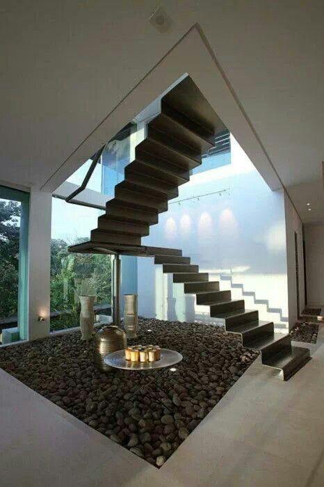 Las 25 mejores ideas sobre escaleras flotantes en - Escalera de diseno ...