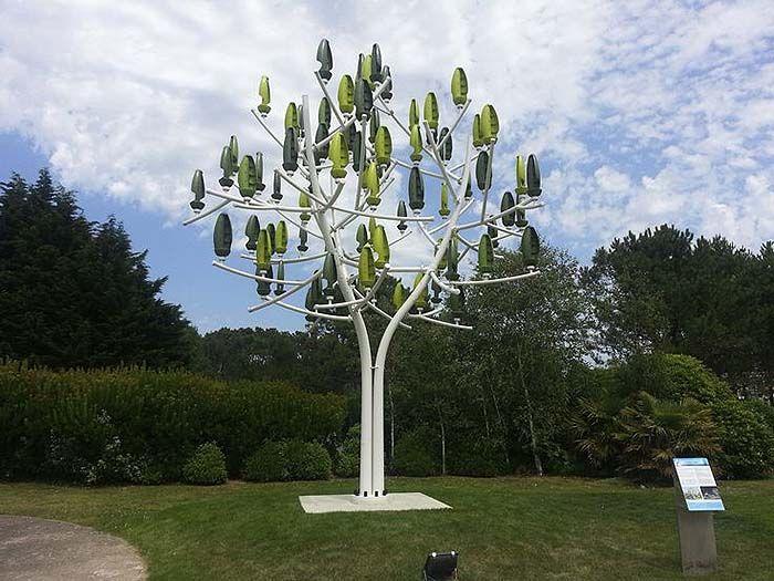 3.1kW New Wind Turbine Looks Like a Tree