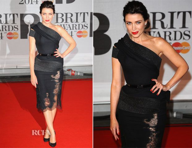 Dannii Minogue In J'Aton Couture – Brit Awards 2014