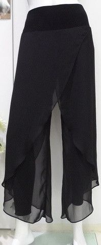 Joseph Ribkoff Black Asymmetrical Pants - Ravishing Rugged