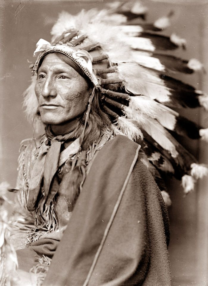 Old Picture of the Day: Native American   native american ...