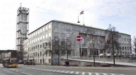 Townhall Århus Denmark. 1937 - 1942  Arne jacobsen