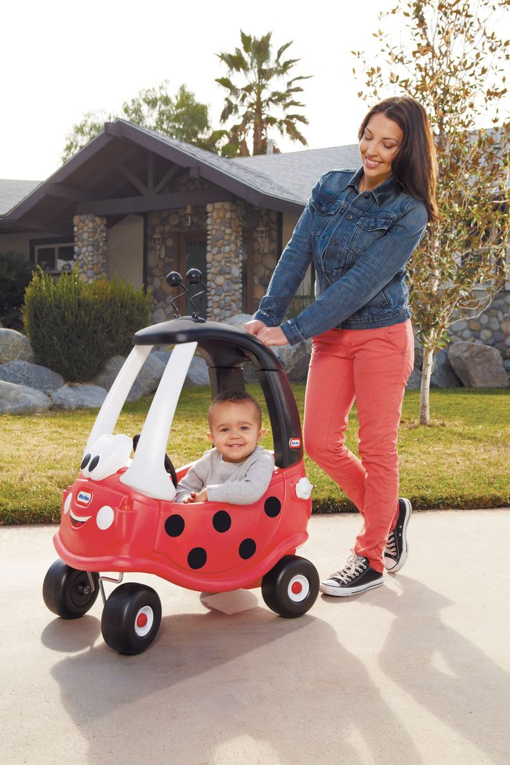 Little Tikes Ladybird Cozy Coupe ride ons Mothercare