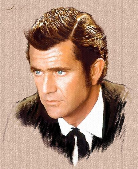 Mel Gibson by shahin