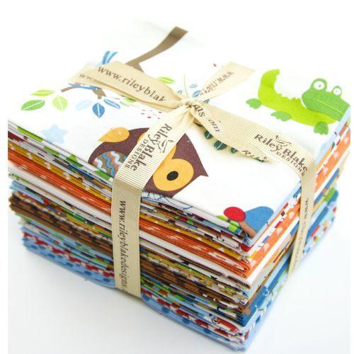 Hoot Returns fabric fq bundle by Riley Blake