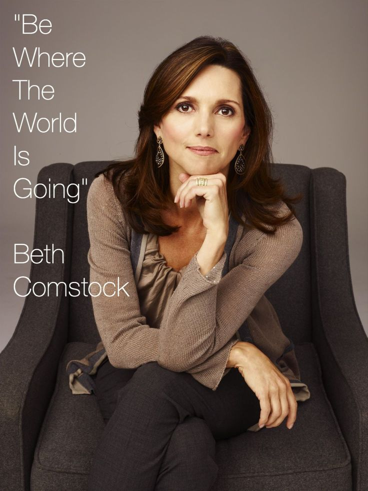 Beth Comstock is GE's first ever Vice Chair