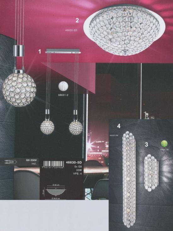 Svietidlá.com - Globo - Azalea 6 - Moderné svietidlá - svetlá, osvetlenie, lampy, žiarovky, lustre, LED