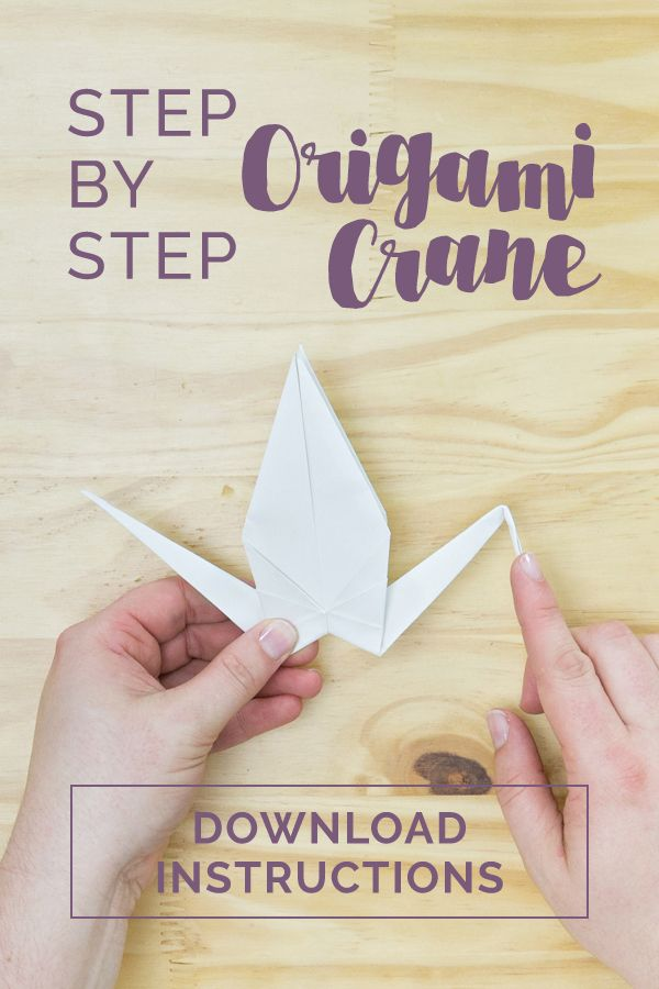 Making some of your Wedding Décor items can shave a lot off of your Wedding Budget. This easy Step-by-Step Origami Crane tutorial is a great way to save a little and have a beautiful and stylish Décor element for your Wedding Reception.  #DIY #WeddingDIY #Wedding #WeddingDecor #Decor #Origami #OrigamiCrane #StepByStep #Free