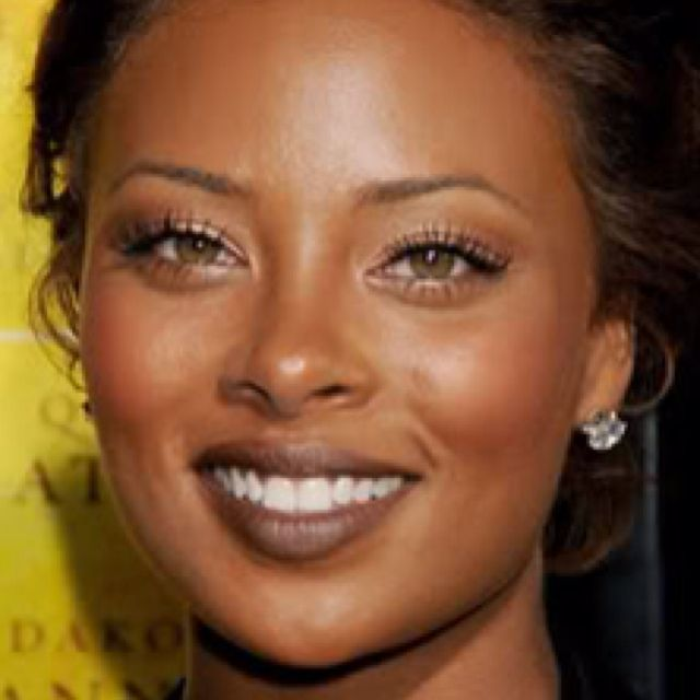 African American with natural hazel eyes | pretty_eyes ...  African America...