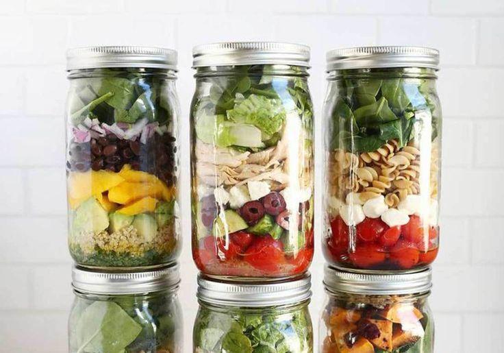 11 salades légères et colorées pour être en forme tout l'été