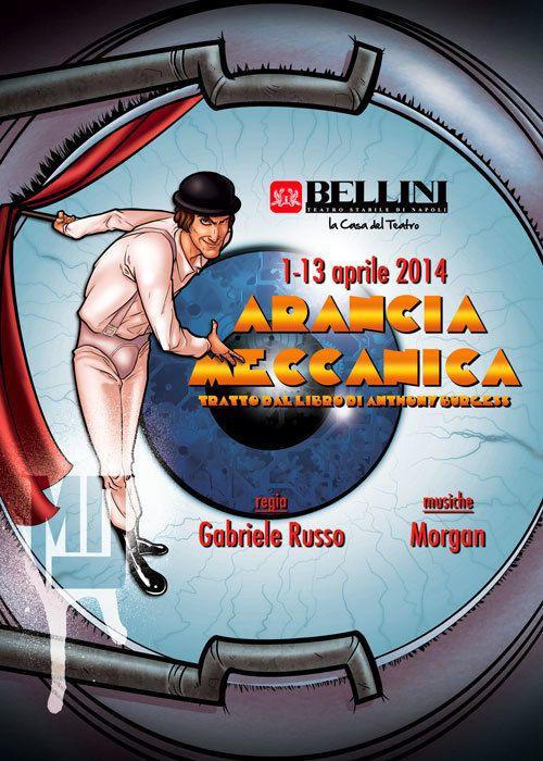 """Arancia Meccanica"" on Behance"
