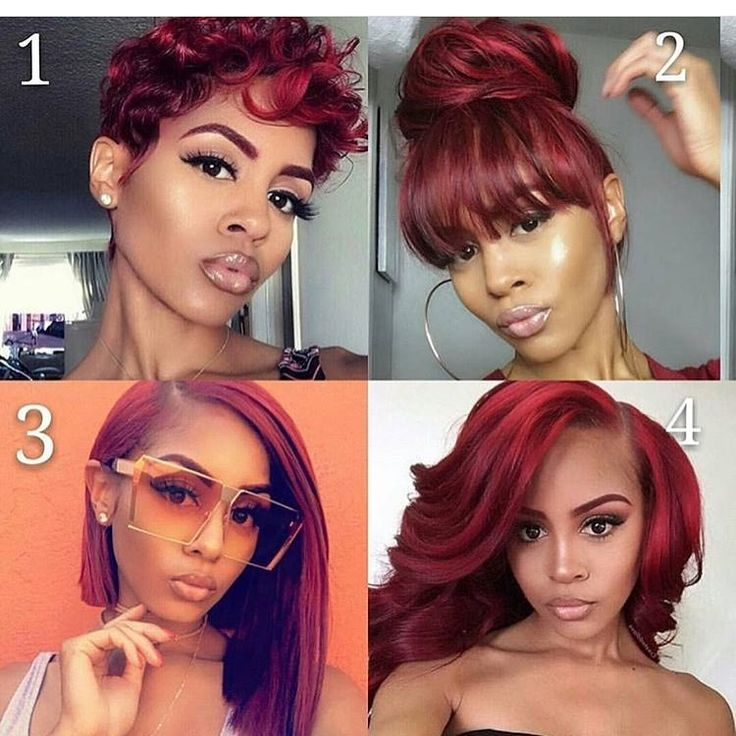Short Red Weave Hairstyles Best Short Hair Styles