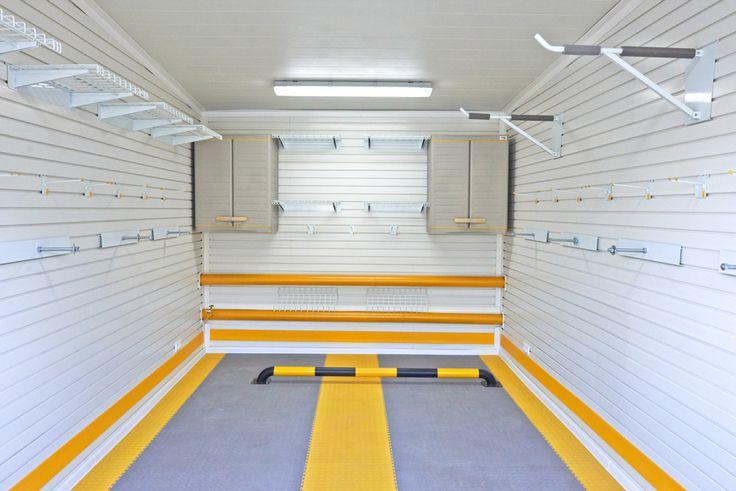 Комплексное обустройство гаража на 1 машину в гаражном кооперативе   ГаражТек - GarageTek - обустройство гаража, система хранения для гаражей