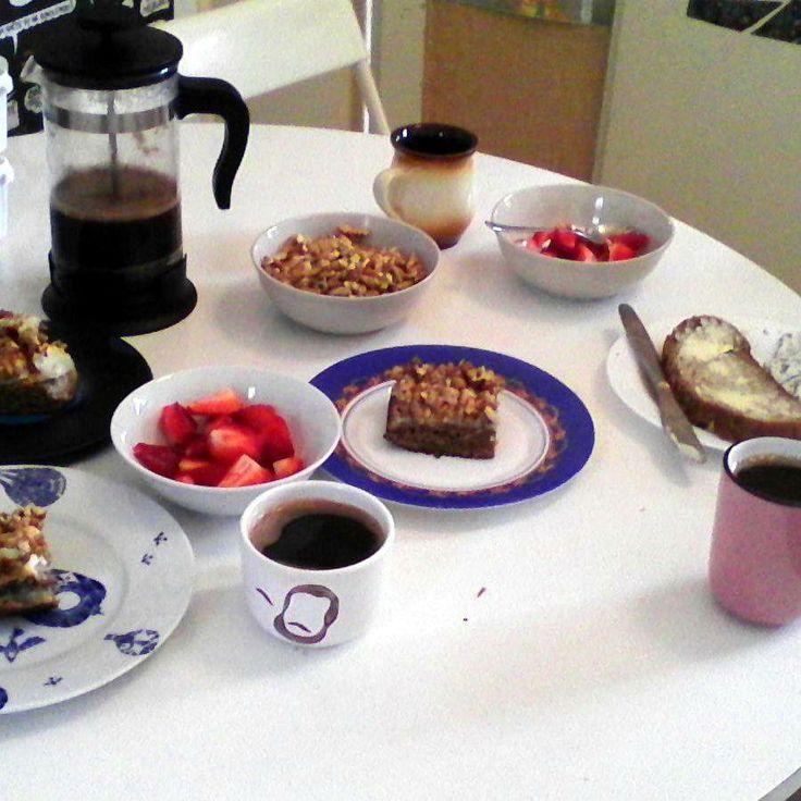Ludevít na raňajkách