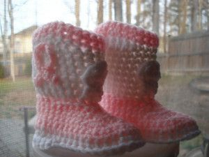 If you haven't learned how to crochet baby booties then you should definitely start out with these adorable Country Cowboy Boots. For someone growing up in the country, these would be a perfect fit. Any toddler, girl or boy, would look too cute walking around in these. Video tutorials are provided to make your cowboy boot-making experience a breeze. Next time your little one wants to ride that rocking horse be sure he is saddled up with these boots and a matching cowboy hat for the cutest...