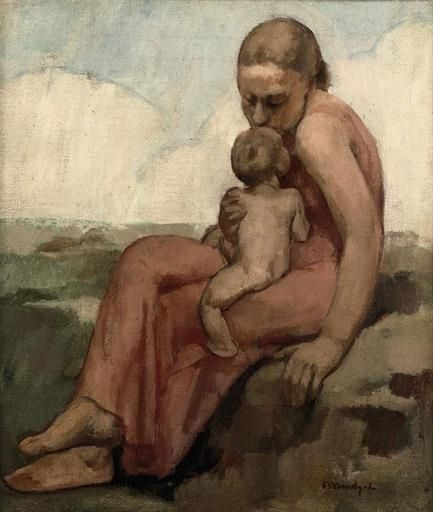 Maternité.    Albert van Dyck