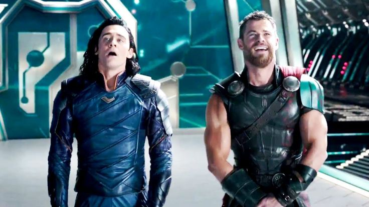 "Thor Ragnarok ""Get Help"" Movie Clip + Trailer (2017) Marvel    Superhero Mo... Laugh it up,Rock for Brains"
