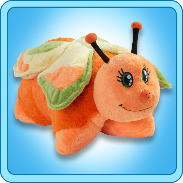 PeeWee Orange Butterfly | My Pillow Pets® Canada