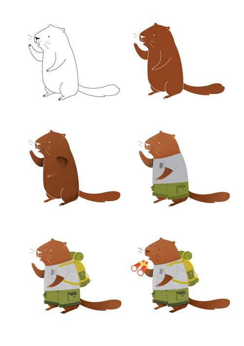 My latest project - Marmot character study